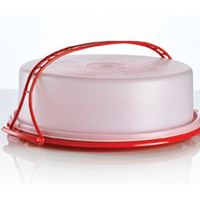 Tupperware   Pie Taker with Cariolier Handle