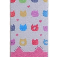 Dull Polished Cat Pattern IPhone 5/5S Case
