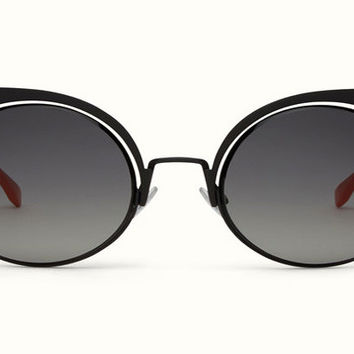 Fendi -  Eyeshine 0177/S Black Sunglasses
