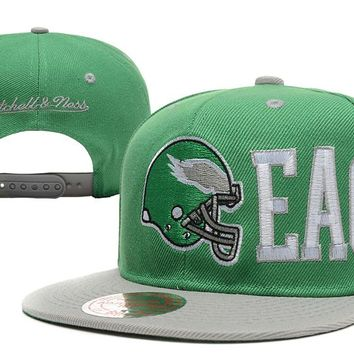 Philadelphia Eagles Snapback NFL Football Hat M&N