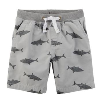 Toddler Boy Carter's Shark Shorts | null
