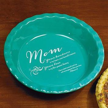 Kitchen Gifts - Deep Dish Pie Plate for Mom