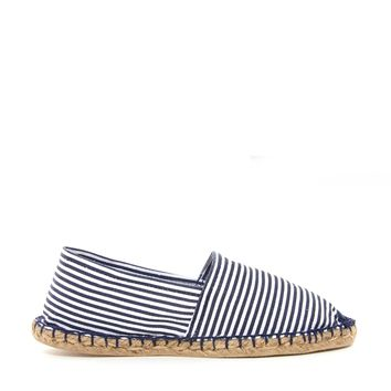 London Rebel Stripe Espadrille