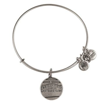 Alex and Ani Wrigley Field™ Charm Bangle - Russian Silver