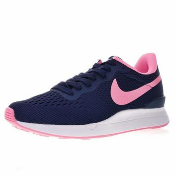 "Nike Internationalist LT17 Retro Running Shoes ""Navy&Pink"" 872087-411"