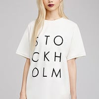 Stockholm Graphic Top