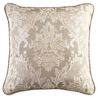 Croscill Home Ava Square Pillow | Overstock.com Shopping - The Best Deals on Throw Pillows