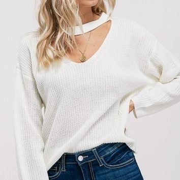 Not So Ordinary Sweater Ivory