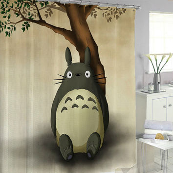 totoro special Shower Curtains