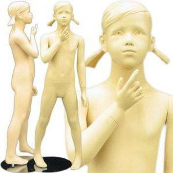 """MN-150 Young Standing Teenage Girl Mannequin 3' 11"""""""