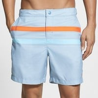 Original Penguin Stripe Swim Shorts