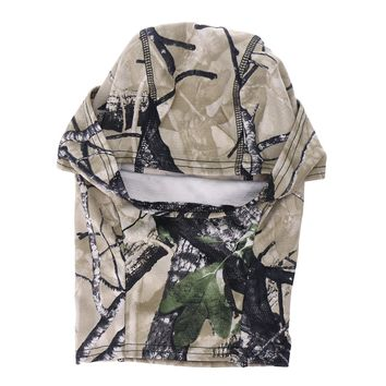 Camouflage Balaclava Face Mask Military Tactical Hood Motorcycle Helmet Quick-dry Headgear