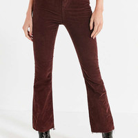 BDG Kick Flare High-Rise Cropped Corduroy Pant | Urban Outfitters