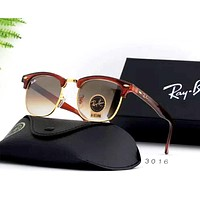 Ray Ban 2019 new tempered glass lens color film polarized sunglasses #4