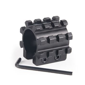 "Tactical 12GA 1"" Shotgun Mag Tube Tri Rail Picatinny Mounts 5 Position Barrel Mount For Remington 870 Mossberg 500 Accessory"