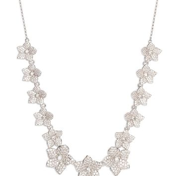 kate spade new york blooming pavé necklace | Nordstrom