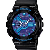 G-Shock GA-110HC-1A Hyper Color Black & Purple Watch