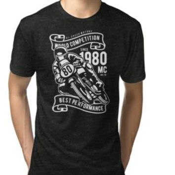 'SUPERBIKE MOTORCYCLES' T-Shirt by Super3