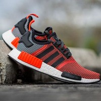 """Adidas"" Trending Fashion Women Men Casual Sports Shoes Orange"