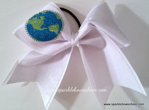 Cheerleading Worlds Cheer Bow Hair Bow Cheerleading