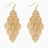 Starburst Chandelier Earrings | Fashion Jewelry | charming charlie