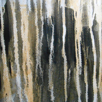 """Modern Abstract One of A Kind Original Acrylic Wash Painting 16x20 Inches """" Sound of Picture 501"""""""
