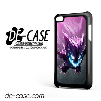 Realistic Pokemon Gengar For Ipod 4 Case Phone Case Gift Present
