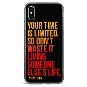 Steve Jobs iPhone XR case