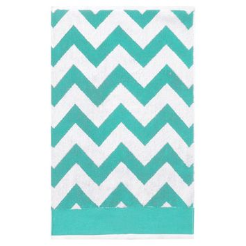 Chevron Bath Towels