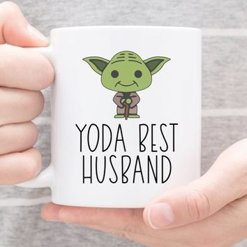 Coffee Mug | Yo Da Best Husband | Funny Mug | Husband Gift | Pun Coffee Cup | Gift For Husband | Best Husband Mug