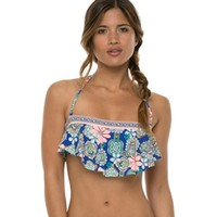 Hobie Bloom to the Loom Hanky Top at SwimOutlet.com