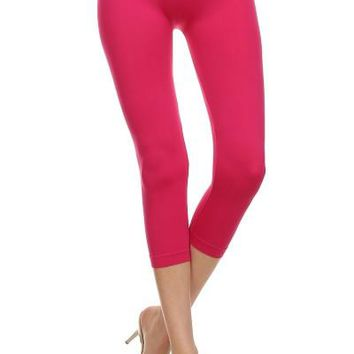 Seamless Capris Leggings