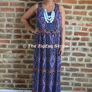 Sharlee Racerback Maxi Dress