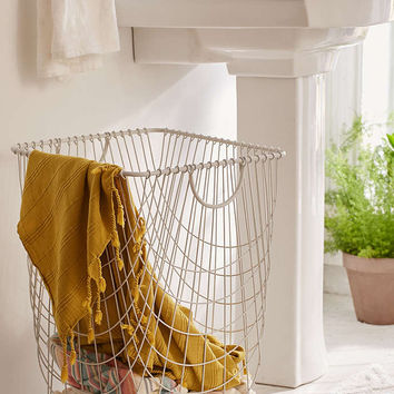Tike Wire Rolling Hamper - Urban Outfitters