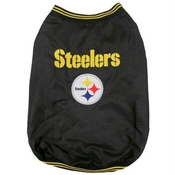 spbest Pittsburgh Steelers Pet Sideline Jacket