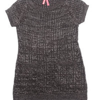 Cable Knit Sweater Dress (4-6x)