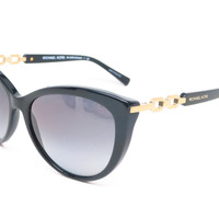 Michael Kors MK 2009 Gstaad 3005/T3 Black Polarized Sunglasses