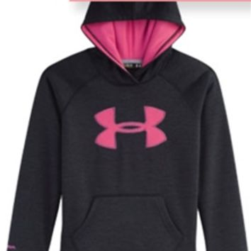 Under Armour Twist Big Logo Storm Hoodie for Girls 1250403-002