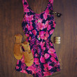 Vision of Love Tropical Romper