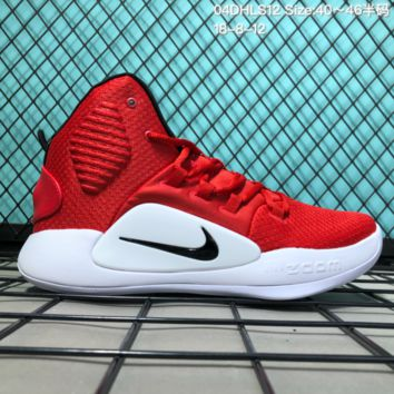 HCXX N280 Nike Hyperdunk X HD 2018 Hight Breathable Actual basketball shoes Red