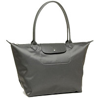 Longchamp Le Pliage Neo Grey Nylon Tote Bag LC LON578/1899-112 MSRP