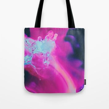 The moon was Ours Tote Bag by duckyb