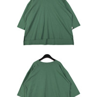 3/4 Sleeved Boxy T-shirt