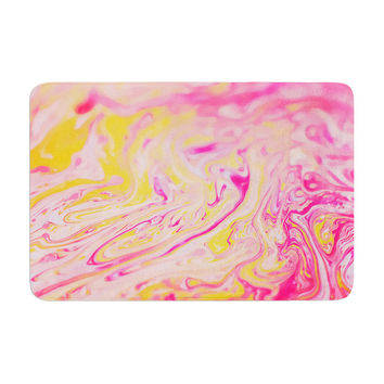 "Ingrid Beddoes ""Bubble Gum Pink"" Memory Foam Bath Mat"