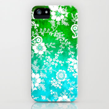 VINTAGE FLOWERS XVII - for iphone iPhone & iPod Case by Simone Morana Cyla