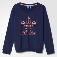 adidas Baroque Sweater - Blue | adidas US