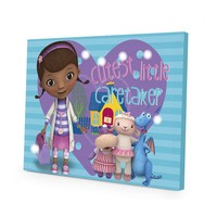 Disney Doc McStuffins LED Light-Up Canvas Wall Art