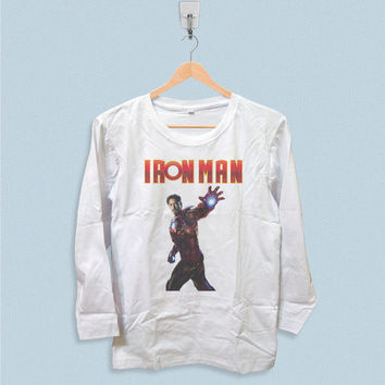 Long Sleeve T-shirt - Robert Downey Jr