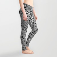 London Bridge (Twinkle Stars Remix) Leggings by Webgrrl