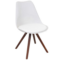 Petal Dining Chair (Set Of 2) White